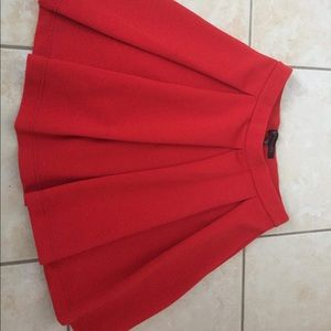Dynamite hot red skirt